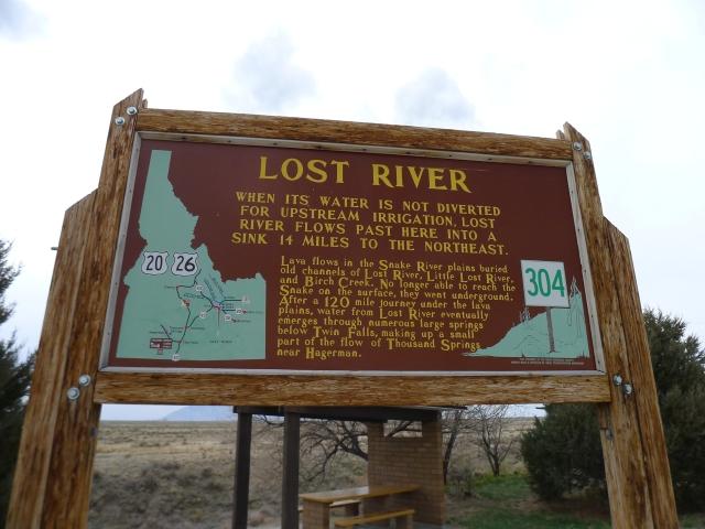 Arco lost river